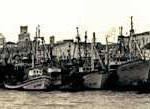 Flota artesanal en El Puerto en 1976